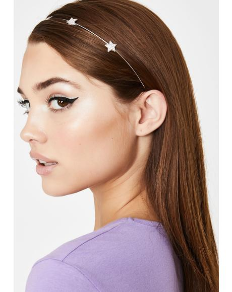 Star Crossed Mini Headband