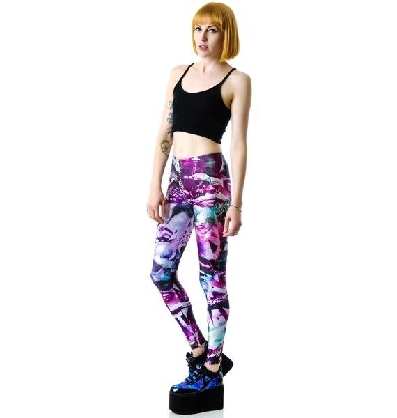 Disturbia Hollywood Babylon Leggings