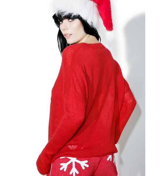 The Laundry Room Santa's Baby Beach Bummies Sweater