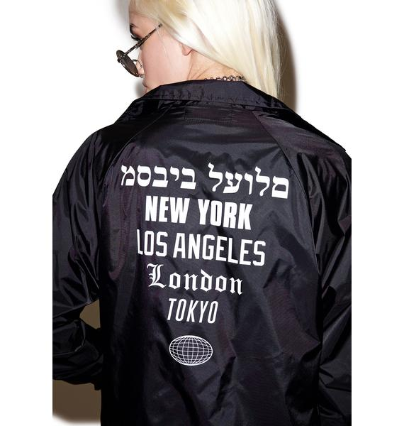Dimepiece Worldwide Coaches Jacket