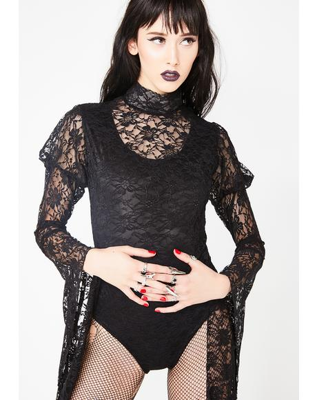 Blood Drive Lace Bodysuit