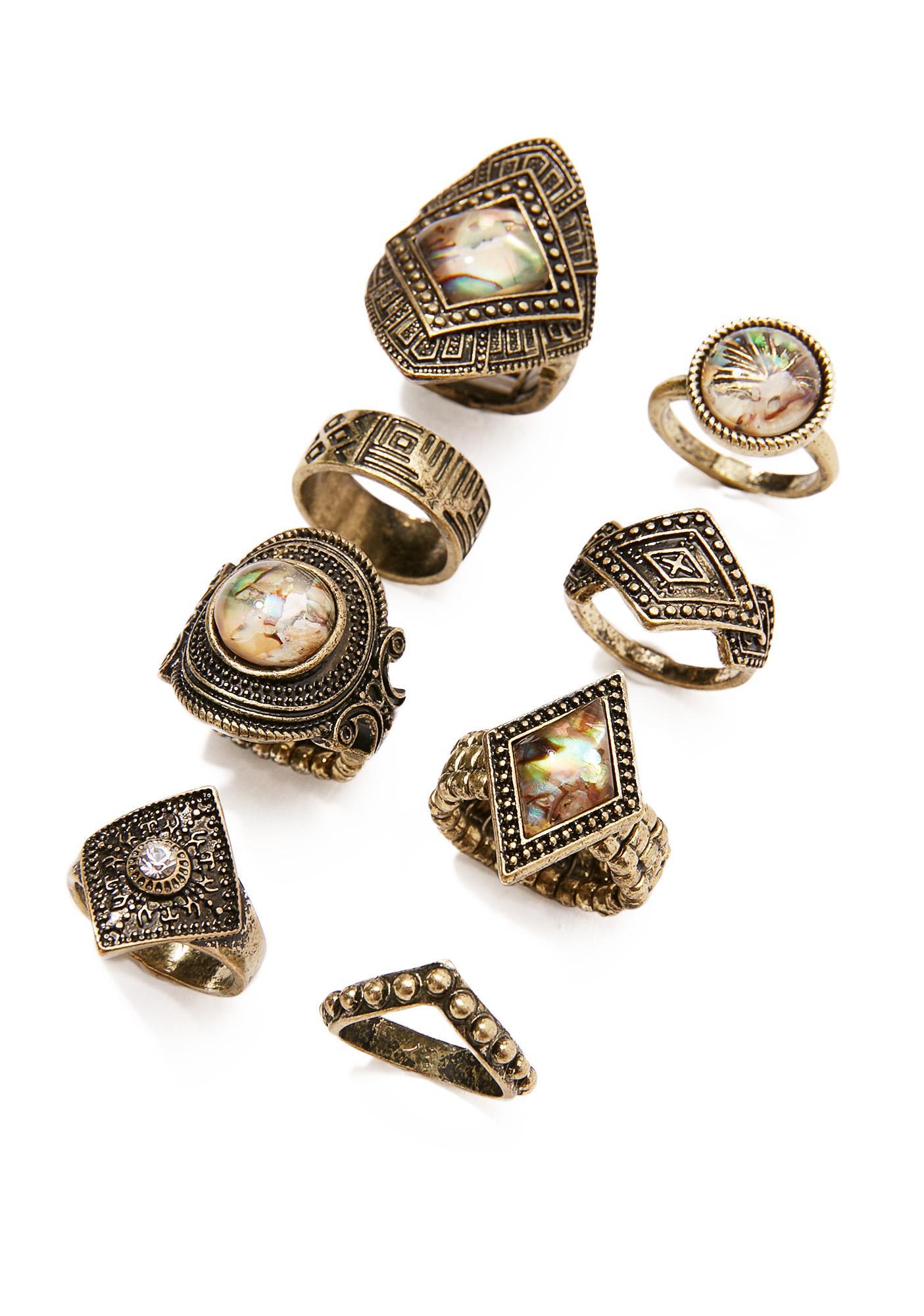 Lady Lustre Ring Set