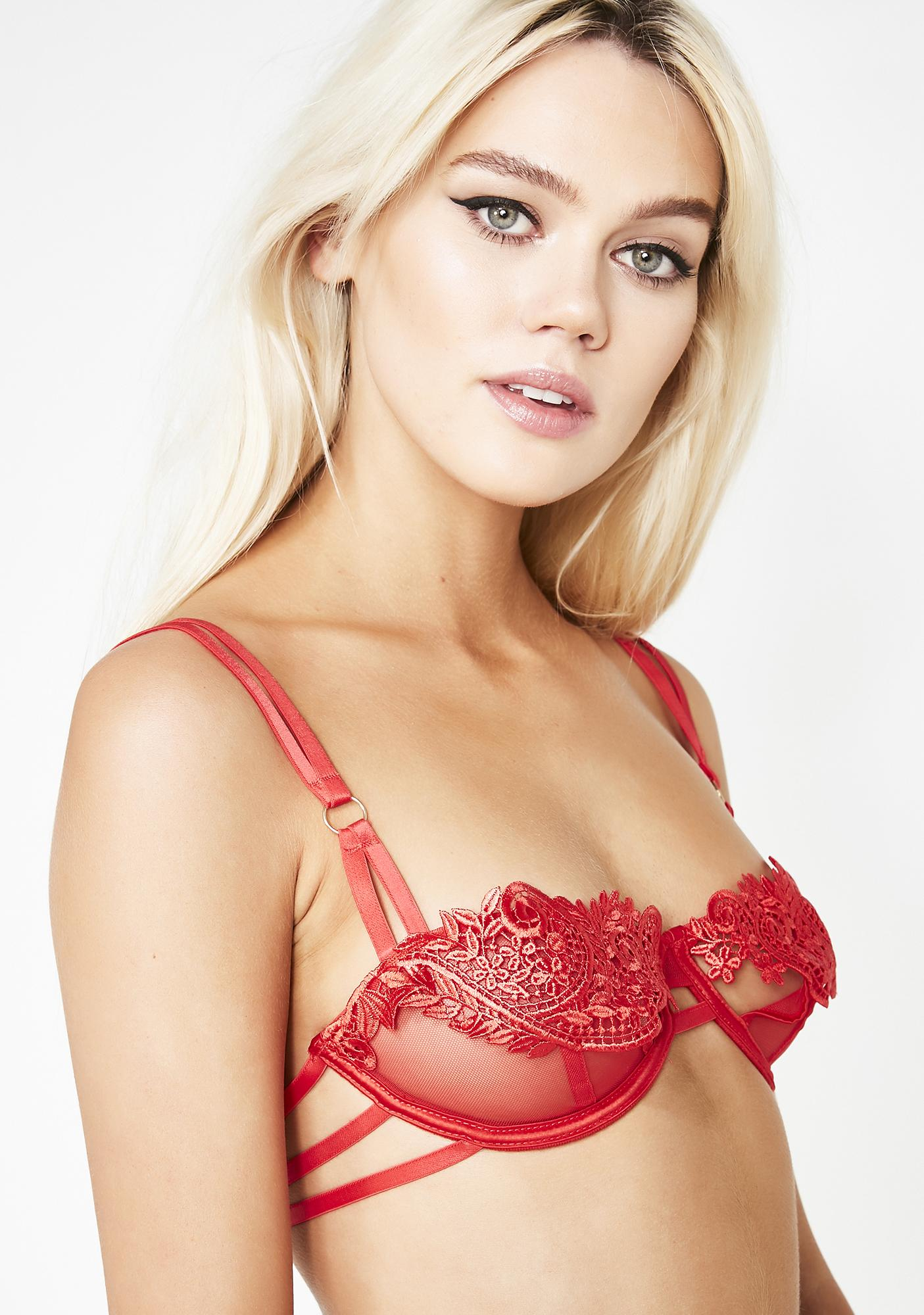 Blue Bella Cherry Julienne Bra