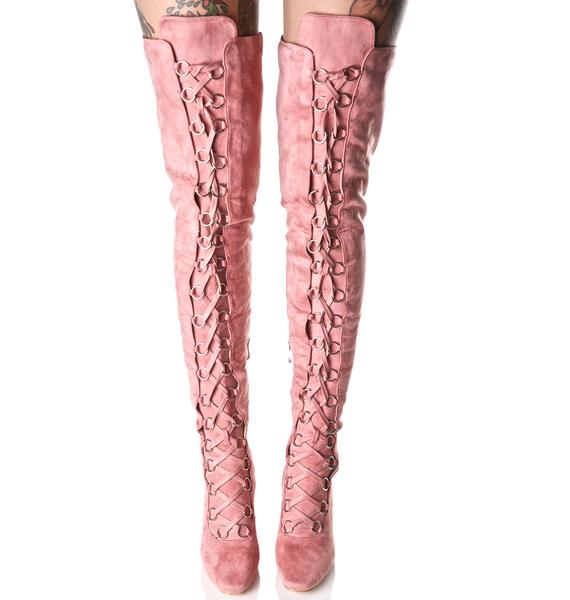 Love Story Thigh-High Boots