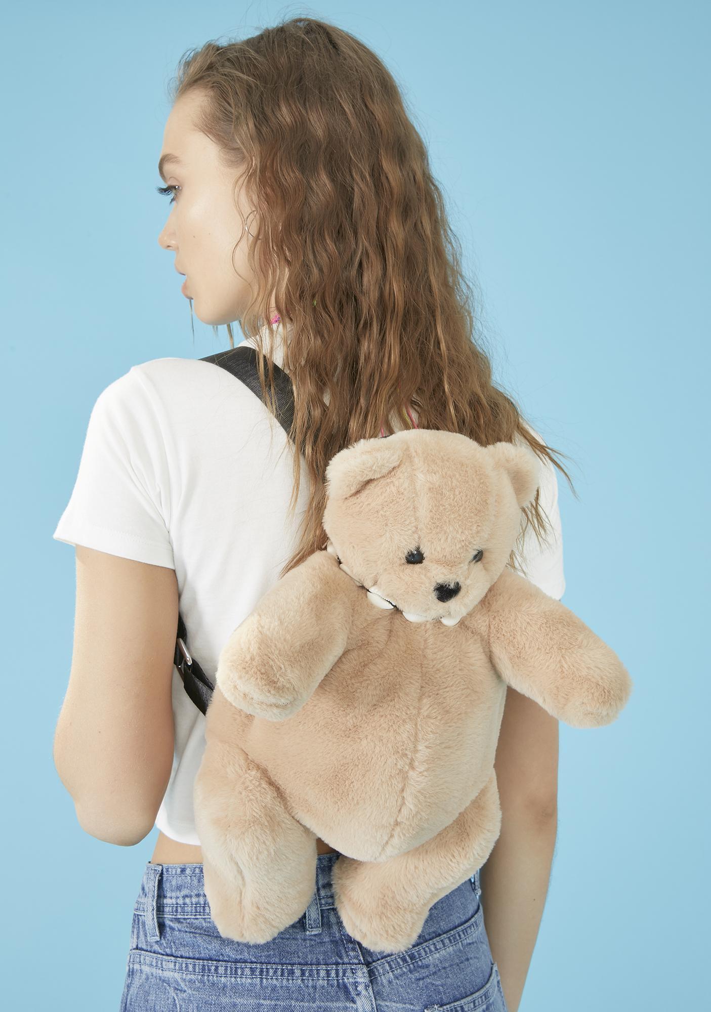 dELiA*s by Dolls Kill Got Ur Back Teddy Backpack