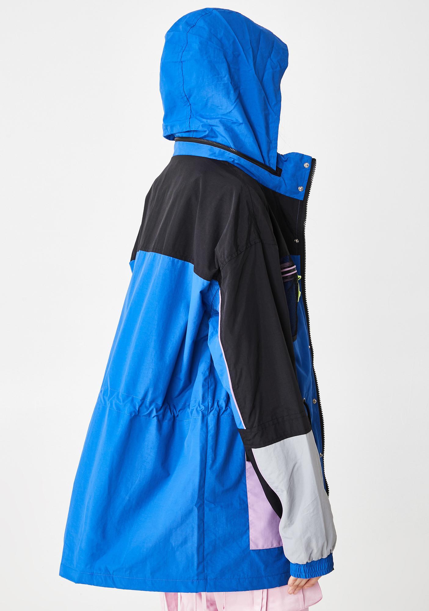 Lazy Oaf Multiplayer Panel Windbreaker Jacket