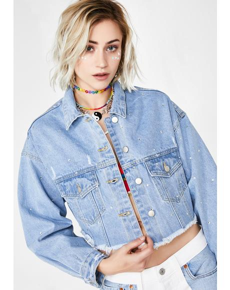 Crystal Crush Denim Jacket