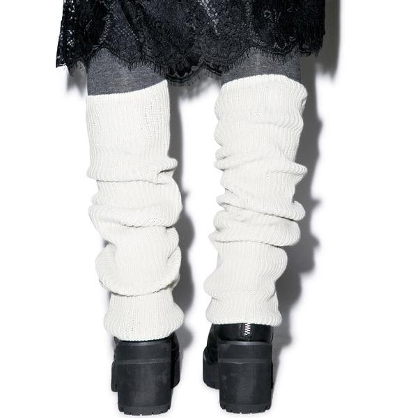 Wildfox Couture Chunky Knit Leg Warmers