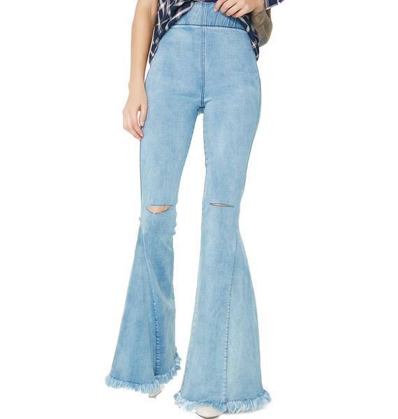 Show Me Your Mumu Cloud Nine Ring My Bell Flared Pants