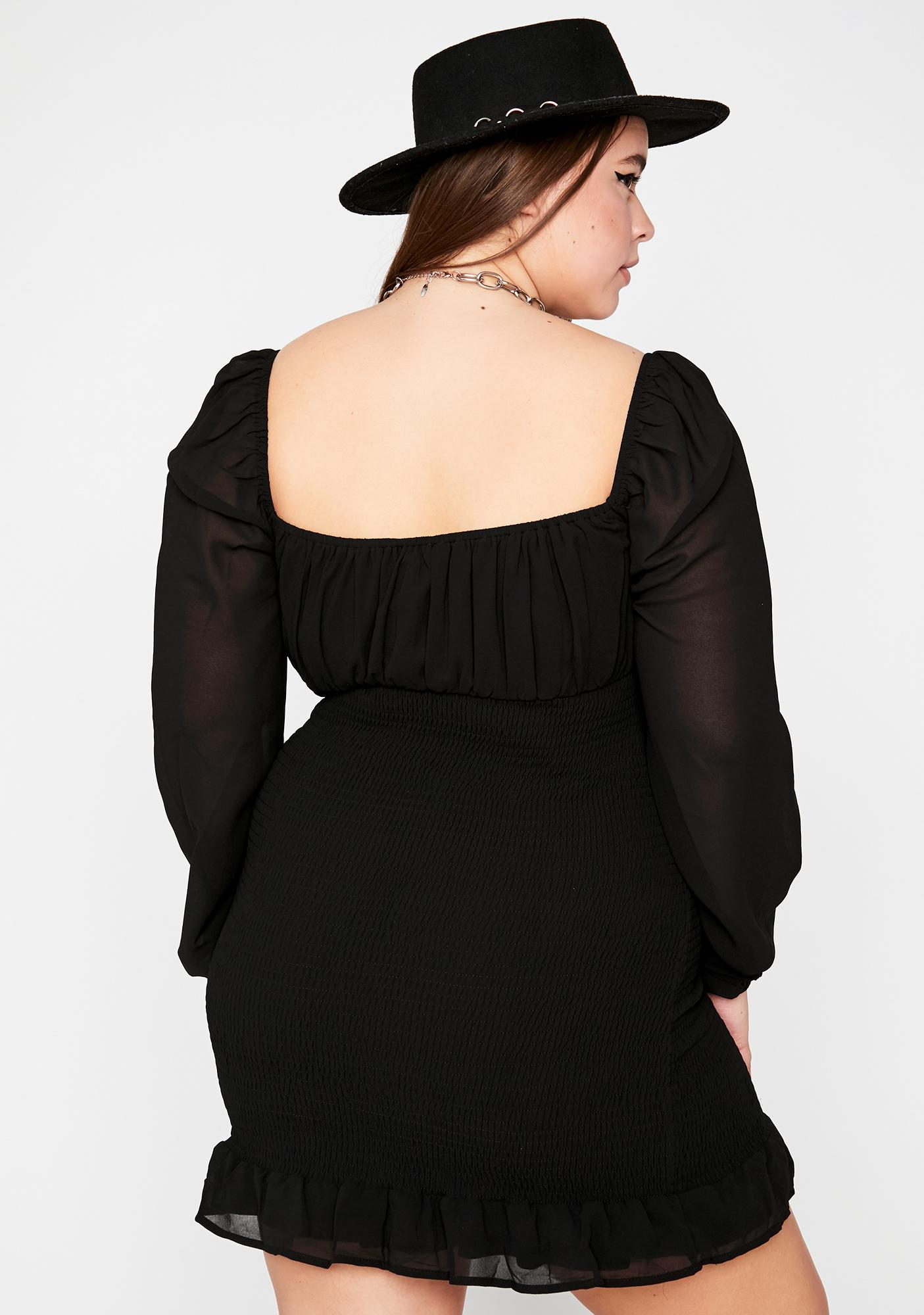 Divine Mystique Temptress Mini Dress