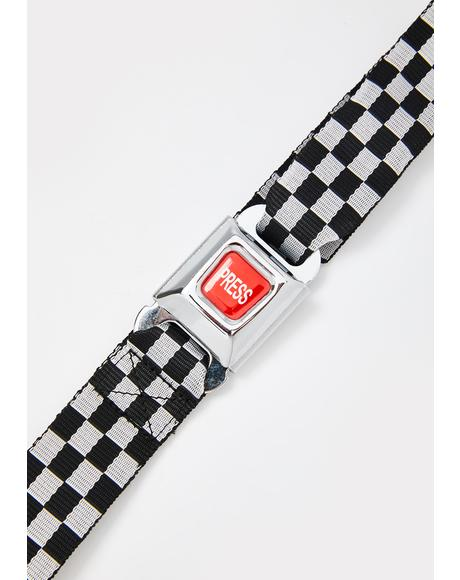 Press Play Checkered Belt