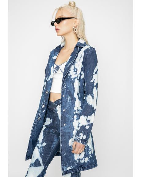 Blue Despina Denim Jacket