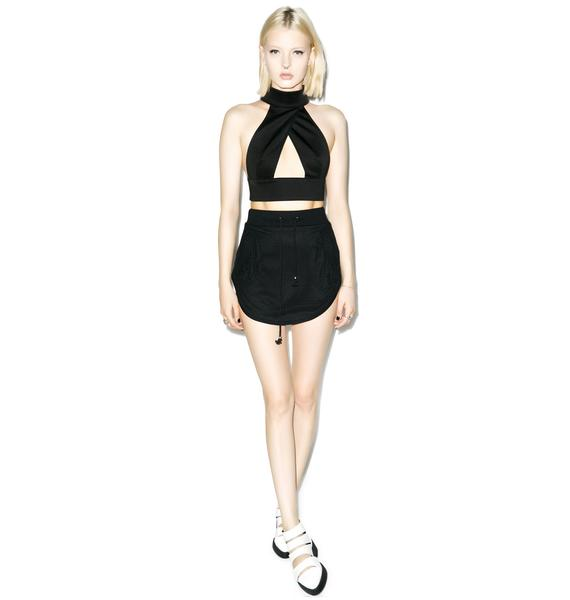Nightwalker Queen Bee Crop Top