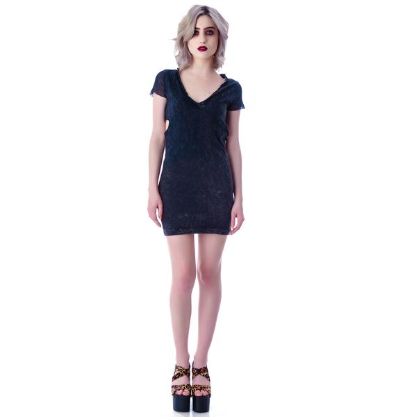 Rebel Yell Heat T Shirt Dress