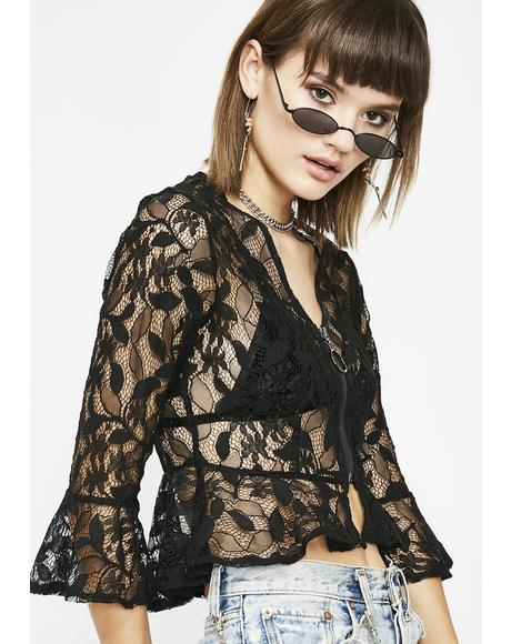 Desire You Lace Blouse