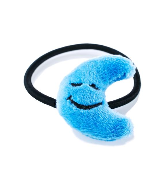 Blue Mewn Hair Tie Set