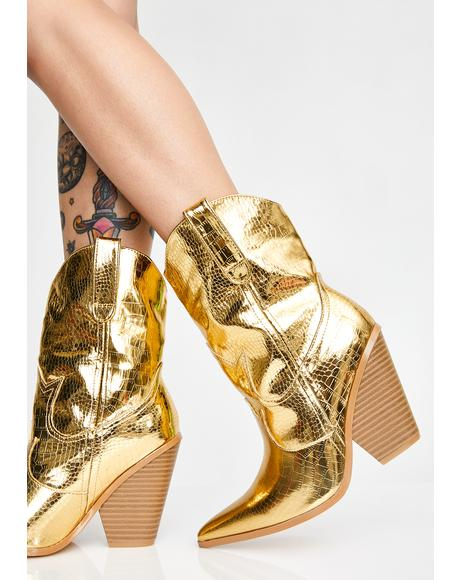 Gold Rush Cowboy Boots