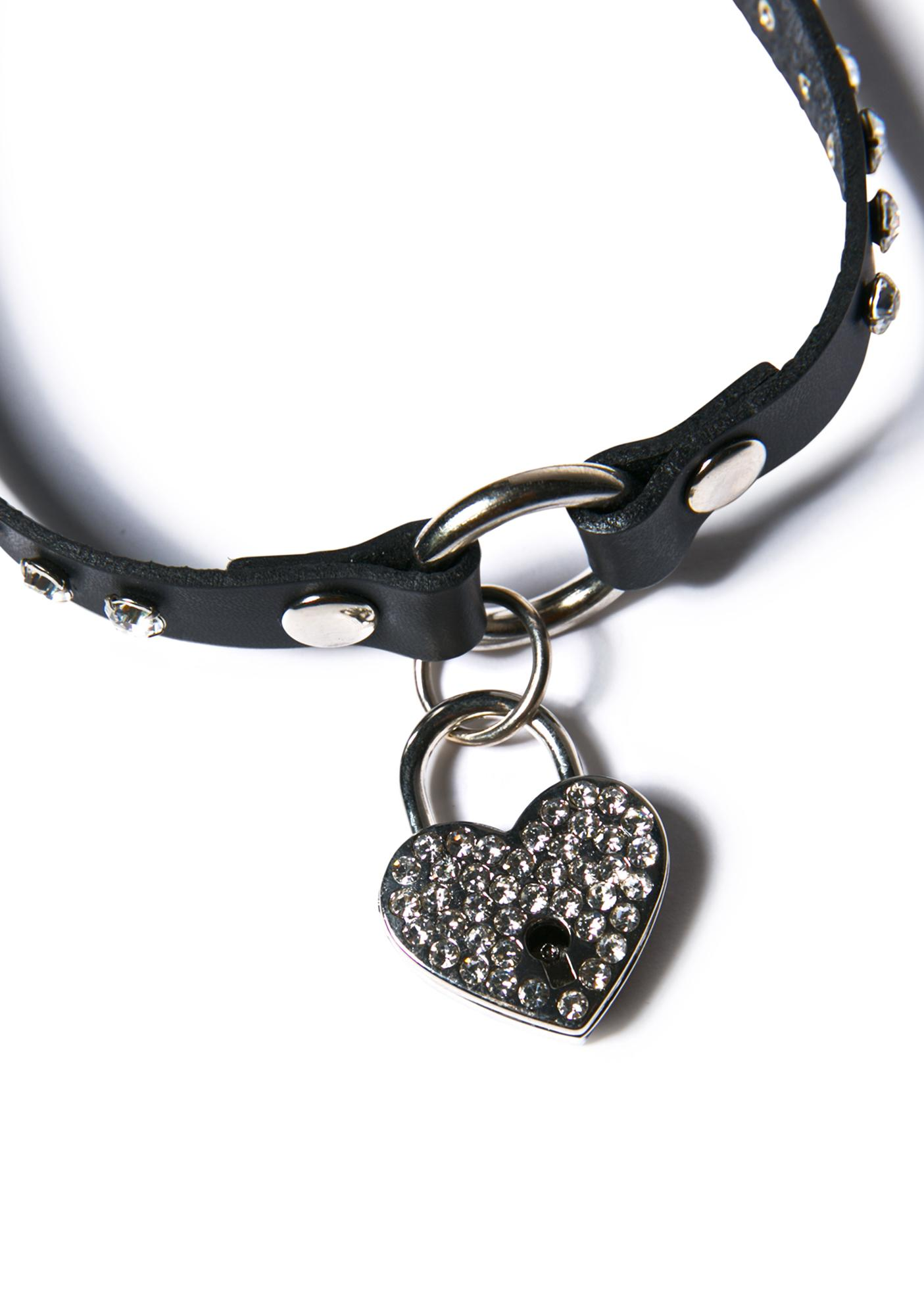 Keys To My Heart Choker