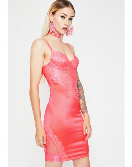 Club Fever Lace Dress