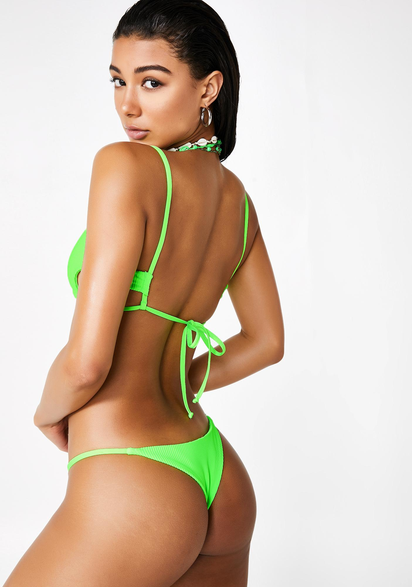 Frankies Bikinis Acid Willa Bikini Top