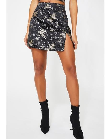 The Lola Floral Skirt