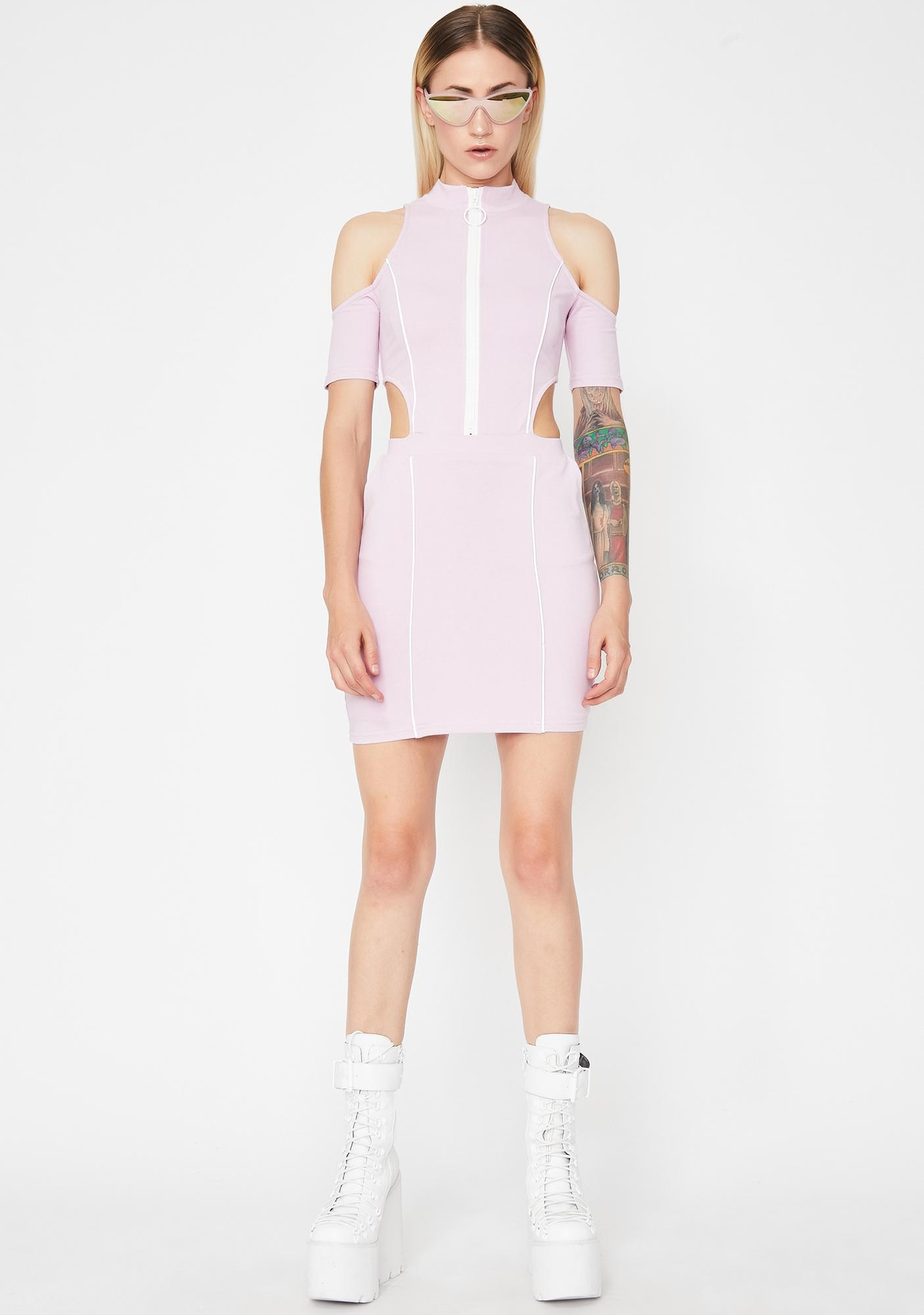 Shining Babe Reflective Dress