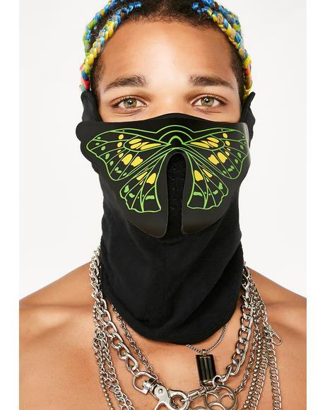 Crazy Town Sound Reactive Dust Mask