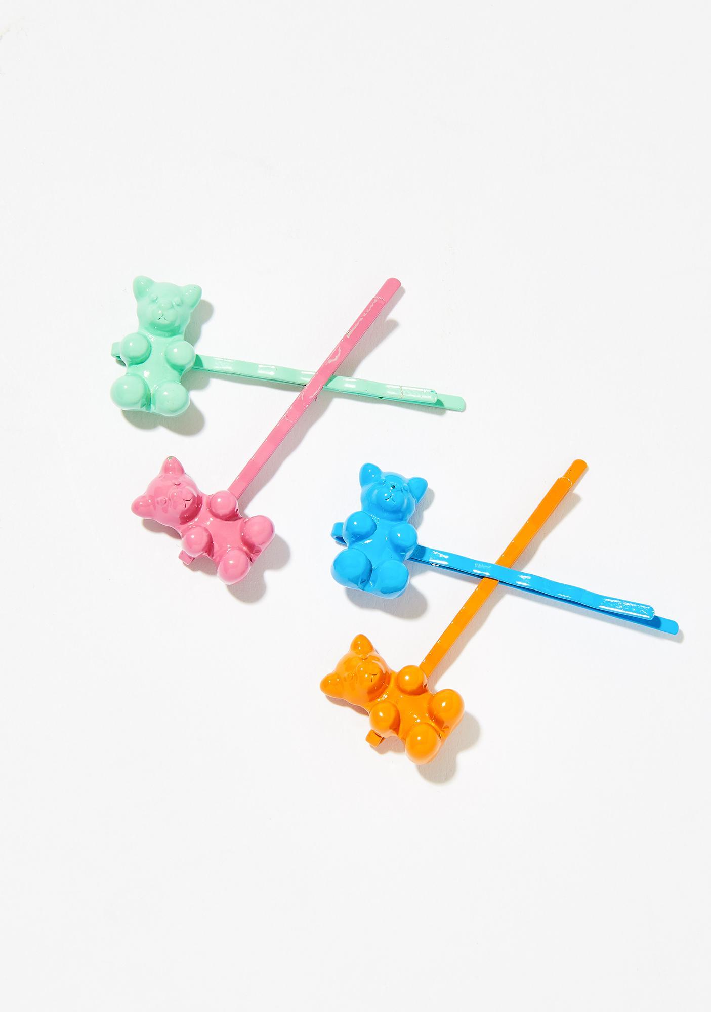 Sugar Fix Gummy Bear Bobby Pins