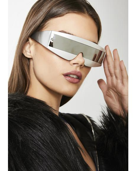 Robo Babe Shield Sunglasses