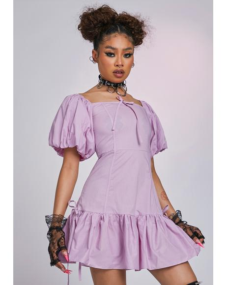The Opera Puff Sleeve Dress