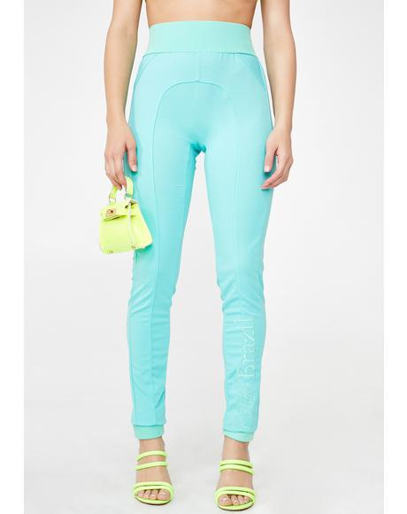 Mint Mermaid Pants