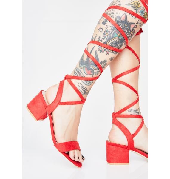 Style Maven Wrap Sandals