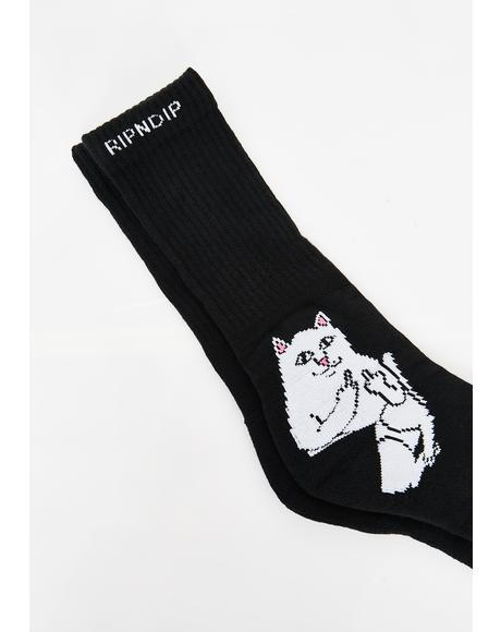 Darkside Lord Nermal Socks