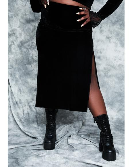 Divine Secret Incantation Midi Skirt