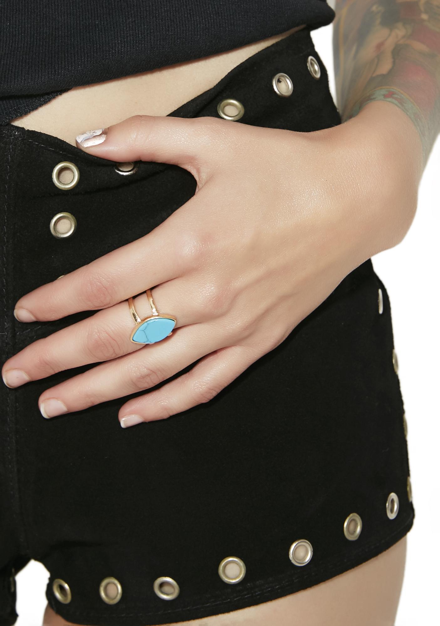 8th Wonder Turquoise Ring