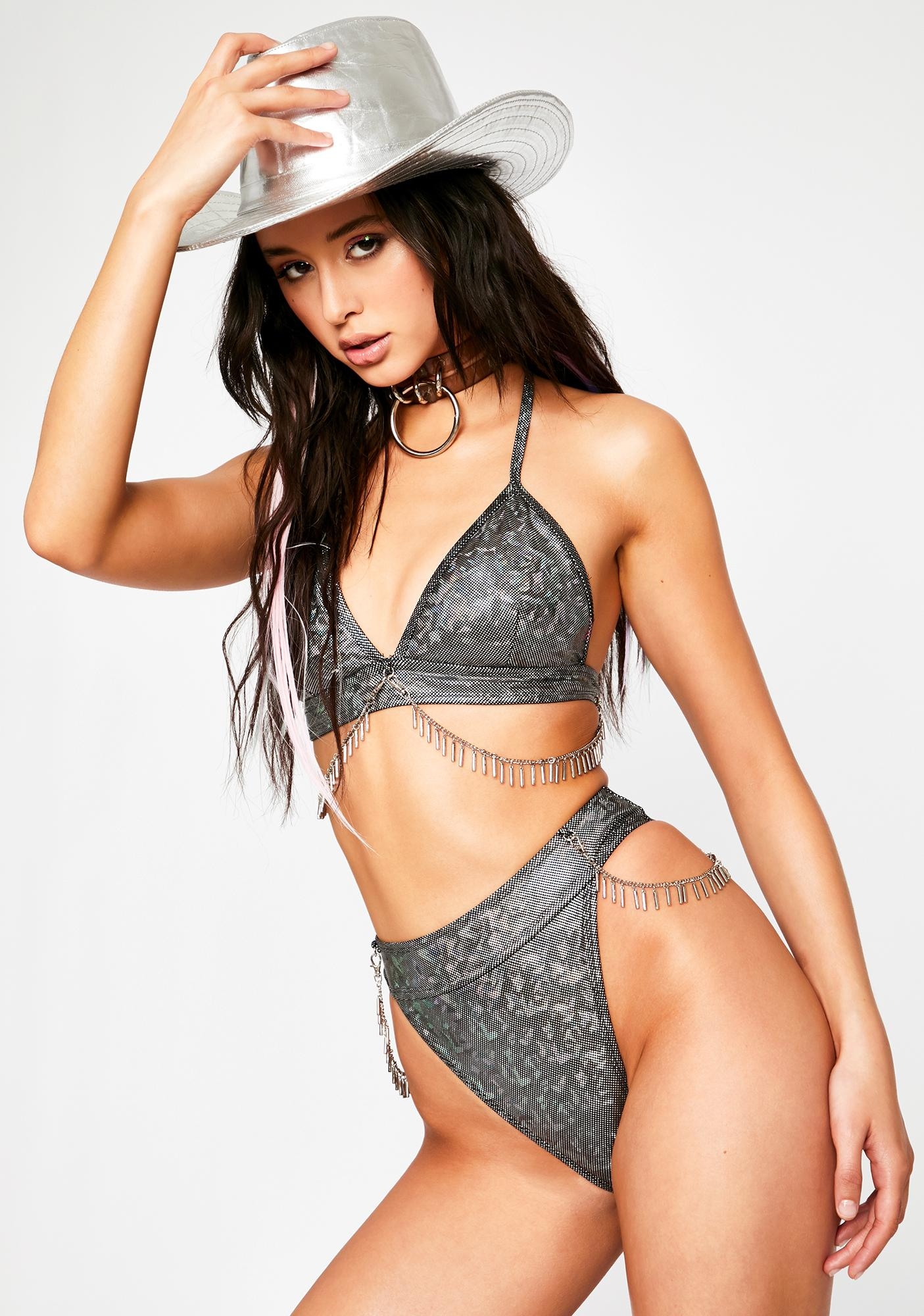 Chrome Ride The Wave Bikini Set