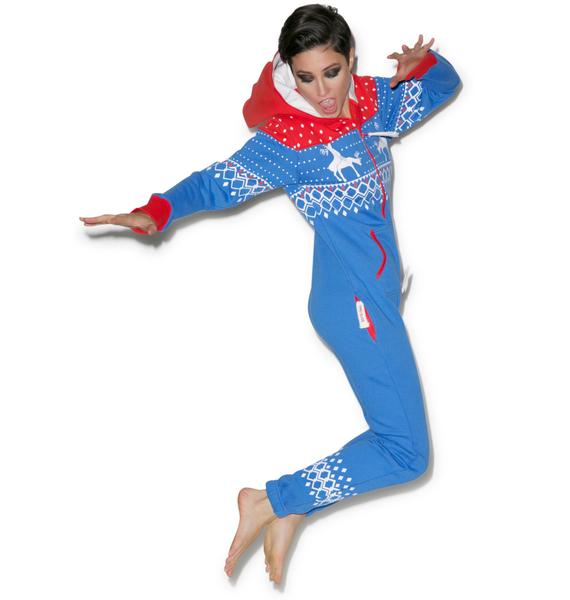 Tipsy Elves Reindeer Games Jumpsuit