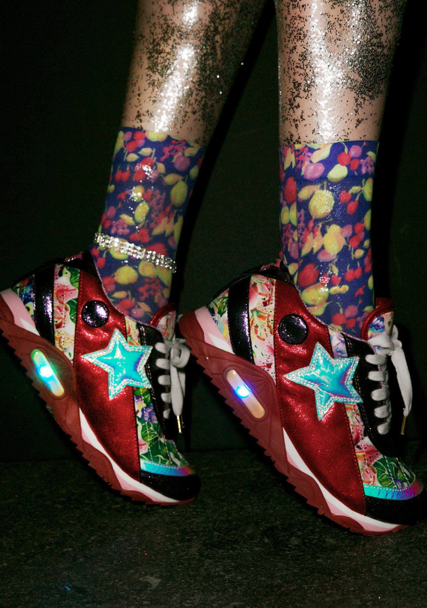Irregular Choice Big Star Sneakers