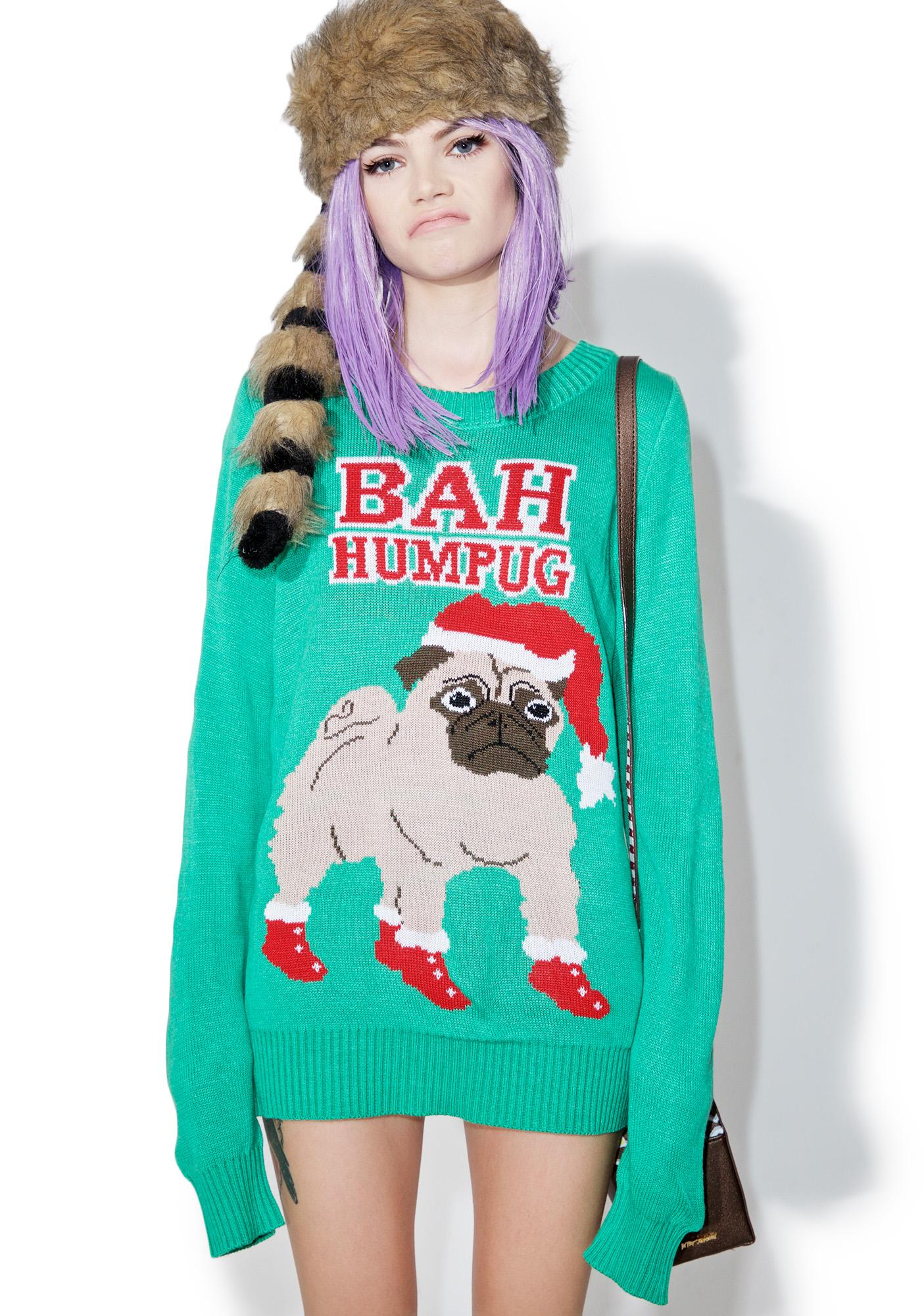 Tipsy Elves Bah Humpug Sweater