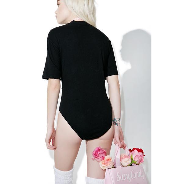 Wildfox Couture Let's Kiss Bodysuit
