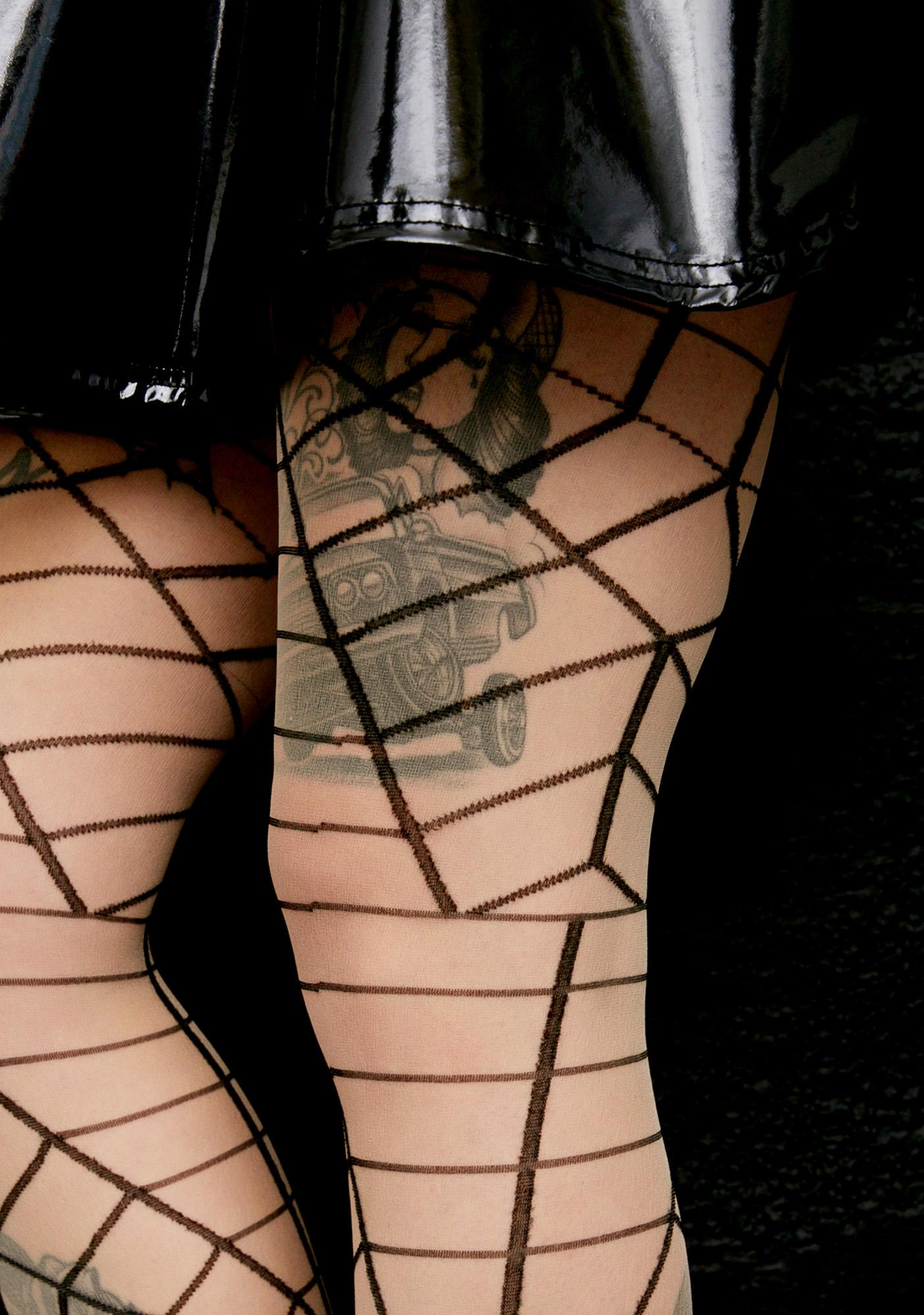 Wicked Web Tights