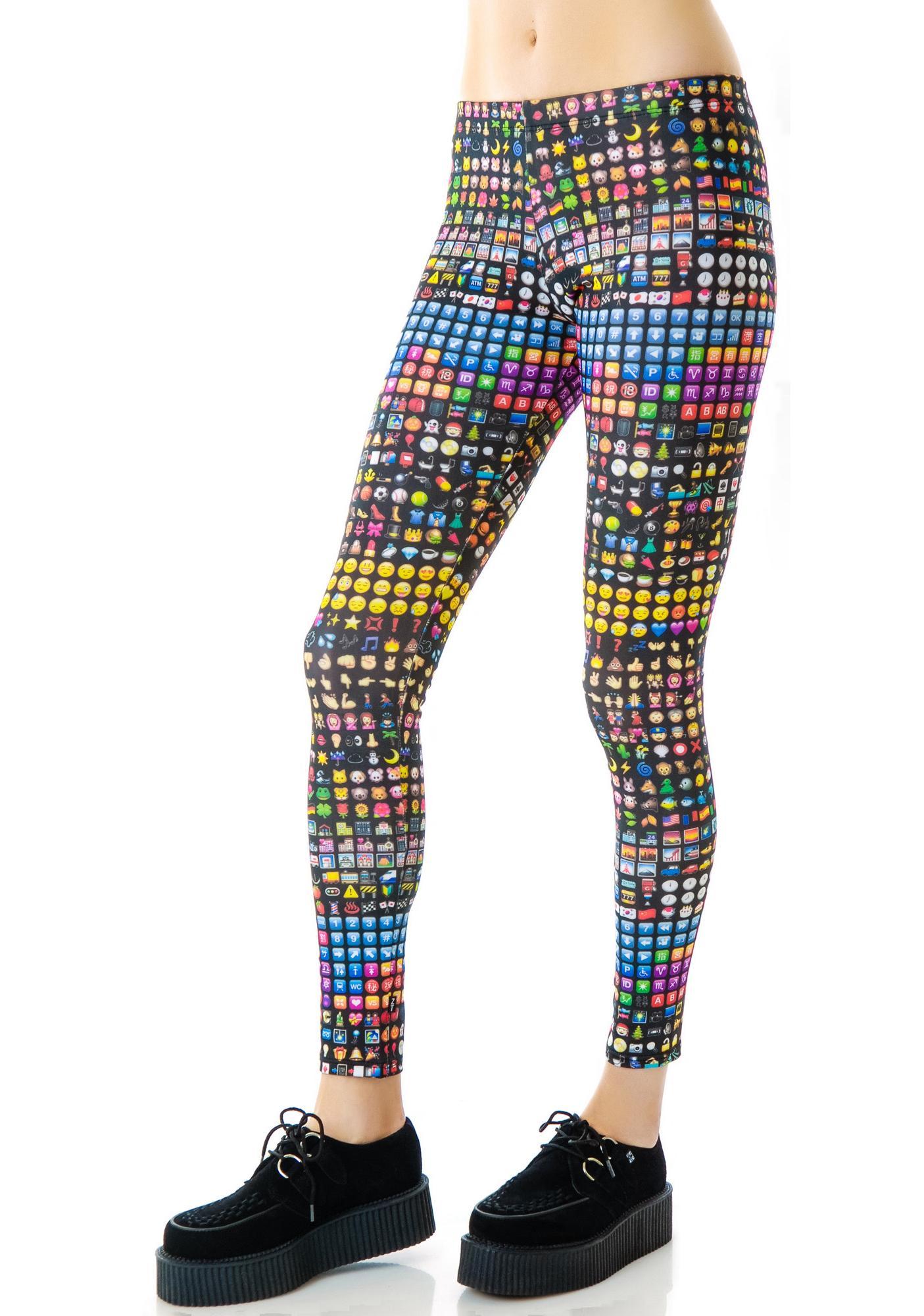 Zara Terez Emoji Leggings