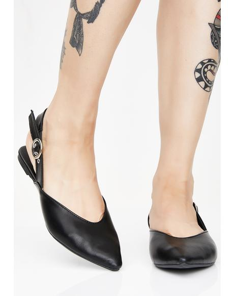 Places To Go Slingback Flats