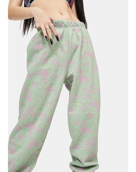 Acid Butterfly Joggers
