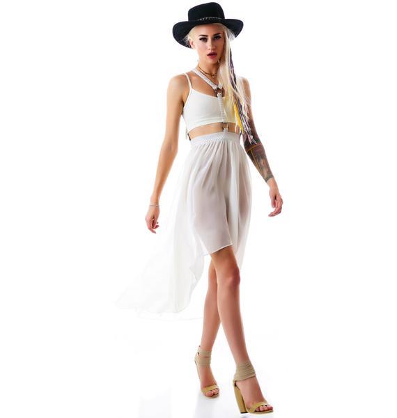Lip Service Fall From Grace Harness Skirt