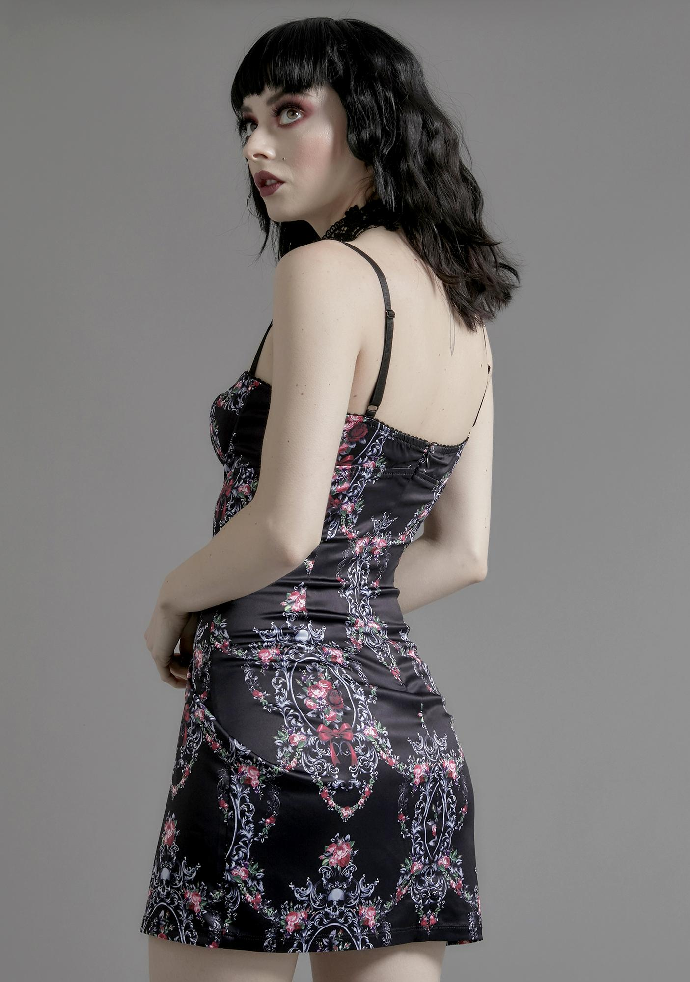 Widow Eternally Entwined Floral Dress