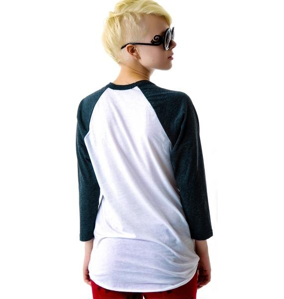 JET by John Eshaya Anchor Baseball Tee