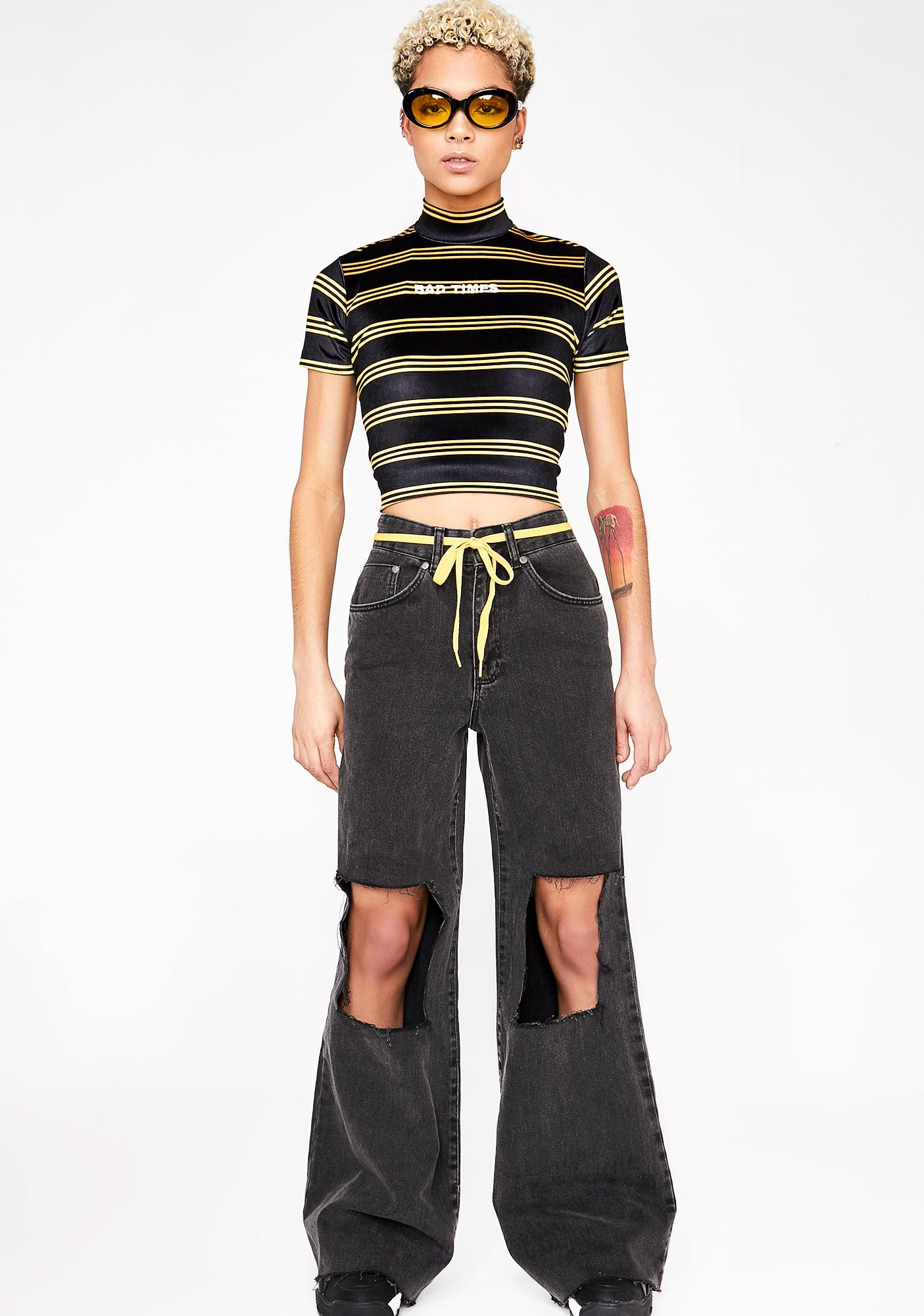 The Ragged Priest Vent Jeans