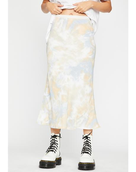 Trippy Mainstream Mami Midi Skirt