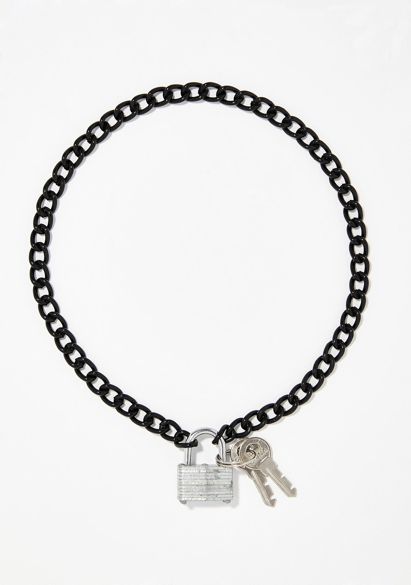 Unlocked Potential Chain Necklace
